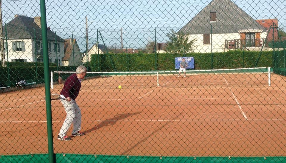 entraînement Tennis Club de Villers sur Mer
